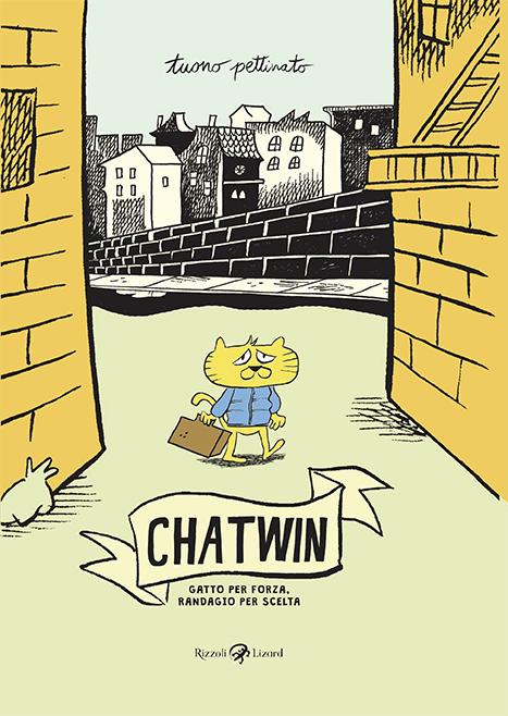 In arrivo Chatwin: gatto per forza, randagio per scelta, il nuovo fumetto di Tuono Pettinato