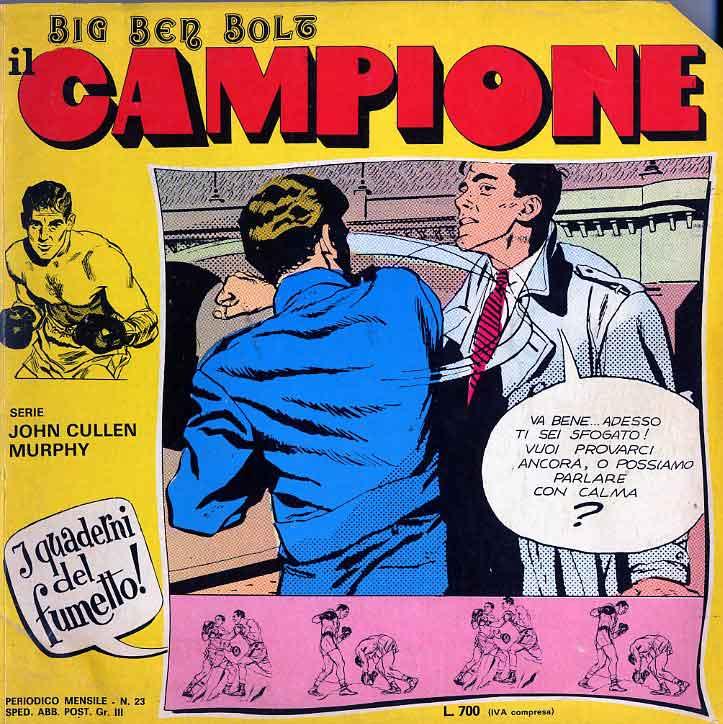 John Cullen Murphy – Big Ben Bolt il campione