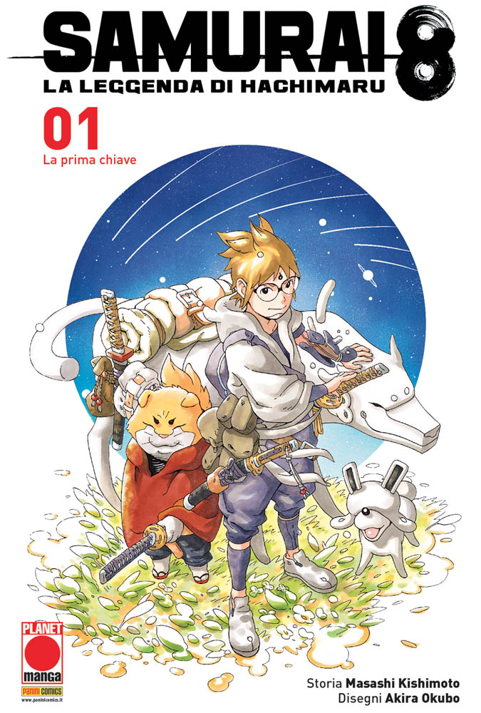 PANINI COMICS presenta Samurai 8, la nuova opera dell'autore di Naruto