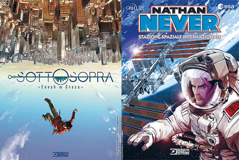 """SBE presenta """"Sottosopra"""" e """"Nathan Never – Stazione Spaziale Internazionale"""""""