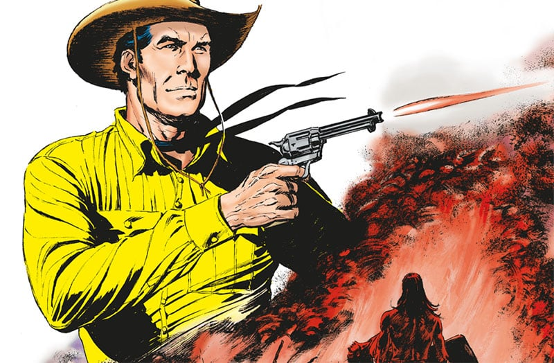 Tex #708 – La tribù dei dannati (Ruju, Font)