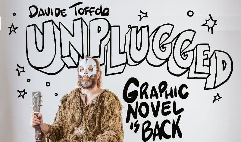 """Graphic novel is back"": il nuovo fumetto di Davide Toffolo ""Unplugged"" a Milano"