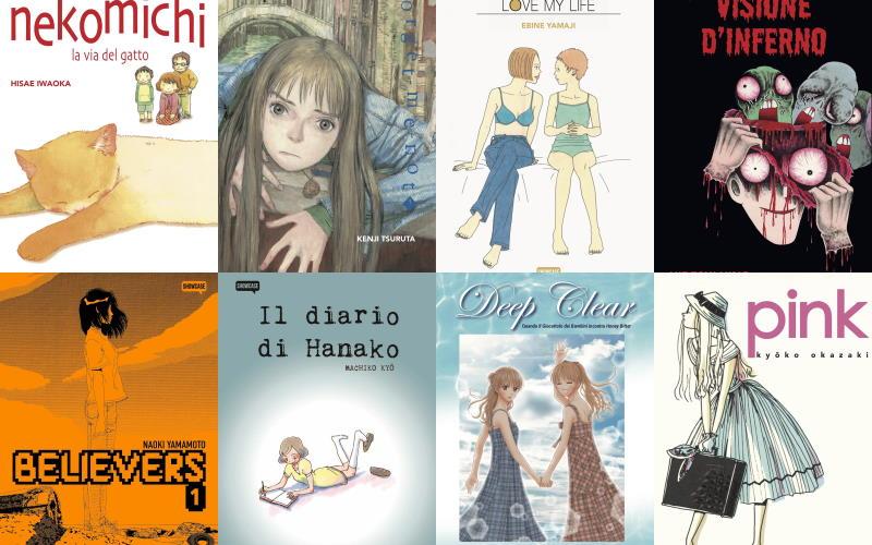Novità manga da Dynit per Lucca Comics & Games