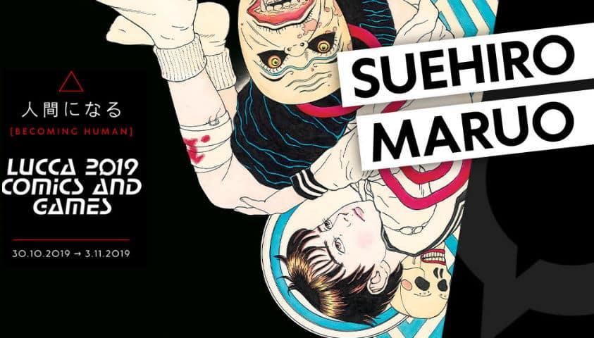 Suehiro Maruoospite a Lucca Comics & Games 2019