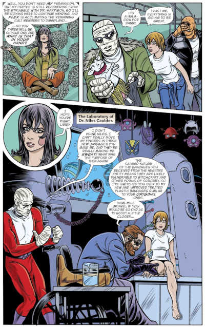 Doom Patrol - Nada: la vita (non) è sogno, perché tutto è vero_Recensioni