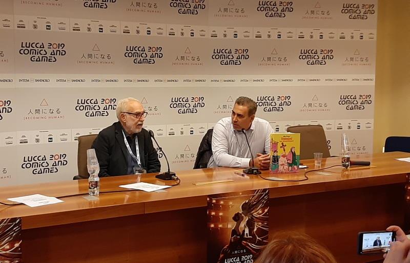 Altan a Lucca Comics & Games 2019