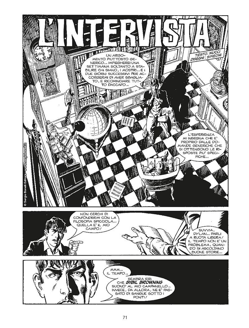 "Sergio Bonelli Editore presenta ""Dylan Dog - Talks""_Notizie"
