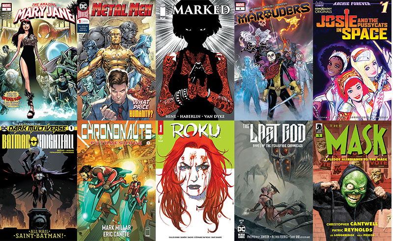 First Issue #56: esordi mutanti e fantasy