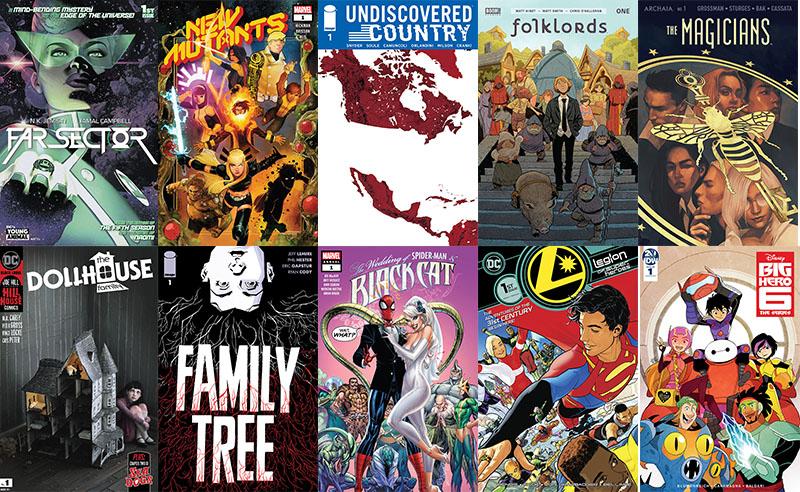First Issue #57: arrivano la Legione e i Nuovi Mutanti