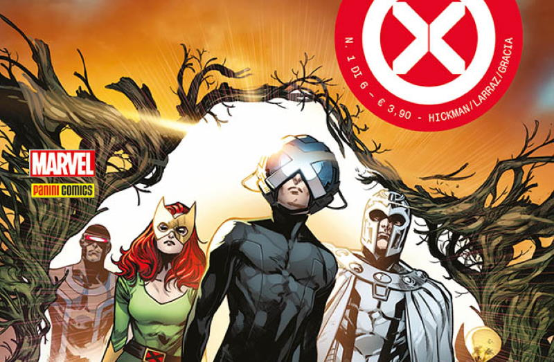 House of X: arriva in Italia la saga degli X-Men di  Johnatan Hickman