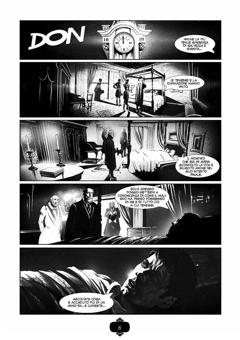 """L'adattamento a fumetti de """"Il vampiro"""" di John Polidori per NPE_Notizie"""