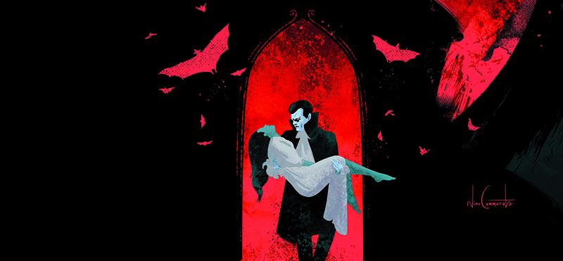 """L'adattamento a fumetti de """"Il vampiro"""" di John Polidori per NPE"""