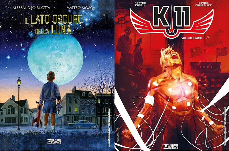 """SBE presenta """"Il lato oscuro della Luna"""" e """"K-11. Volume primo"""""""