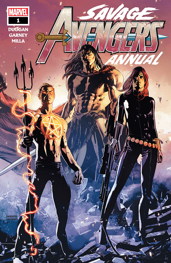 Savage Avengers Annual 1