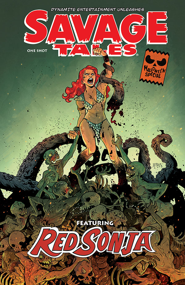 Savage Tales Red Sonja