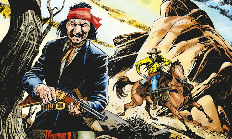 Tex #709 – La furia di Makua (Ruju, Font)