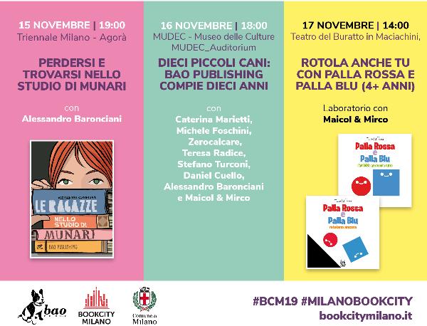 BAO Publishinga BookCity Milano 2019_Notizie