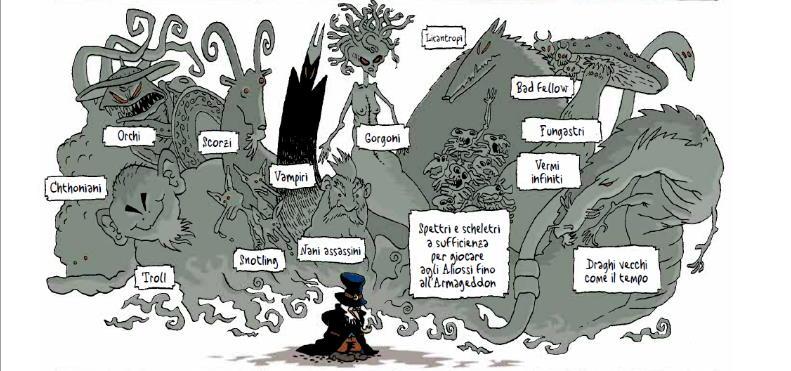 Un'epopea fantasy completamente folle: La Fortezza_Recensioni