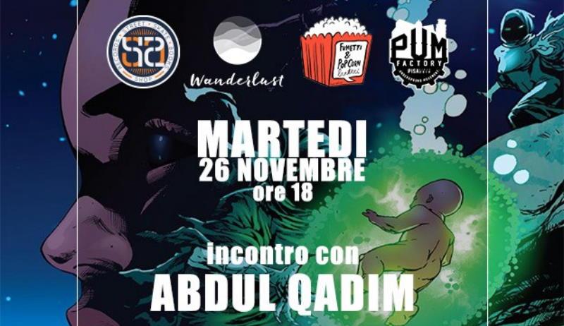 L'autore della prima graphic novel sulla Techno Music ospite a Pisa