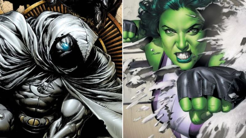 Disney+: scelti sceneggiatori per serial su Moon Knight e She-Hulk