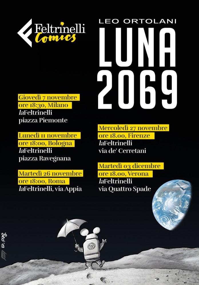 """Feltrinelli Comics: Leo Ortolani in tour con """"Luna 2069"""""""