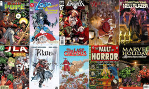 Essential 11: Bad Santas in comics