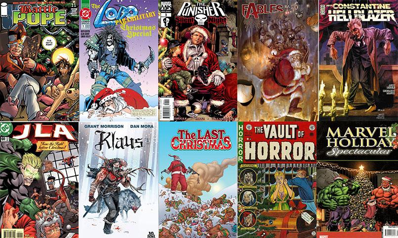 Essential 11: Bad Santas in comics