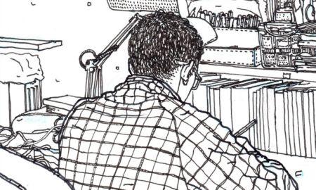 Illustrazione per Lo Spazio Bianco Andrea Frittella 5