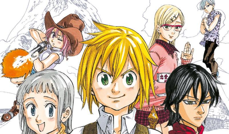 """""""The seven short stories"""" un volume per i fan di Nakaba Suzuki"""