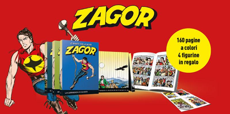 Le più grandi avventure di Zagor con Gazzetta dello Sport e Corriere