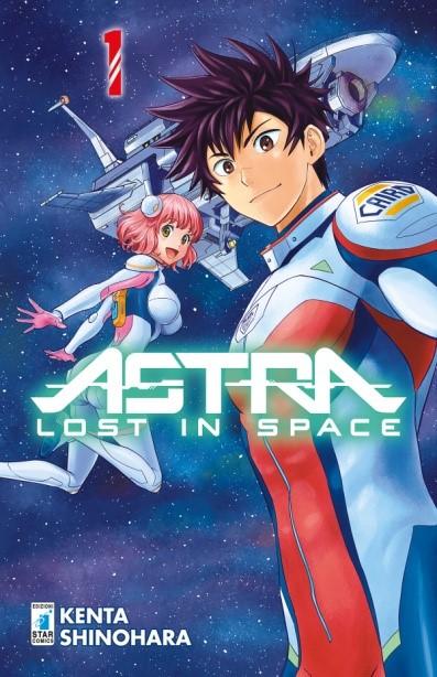 "Da Star Comics ""Astra Lost in space"" manga sci-fi per ragazzi di Kenta Shinohara_Notizie"