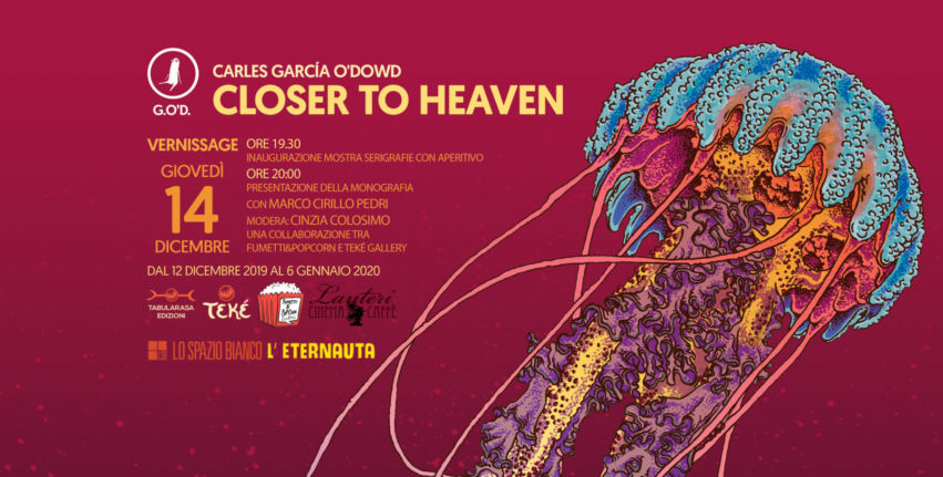 """Carles G.O'D. in mostra a Pisa con """"Closer to Heaven"""""""