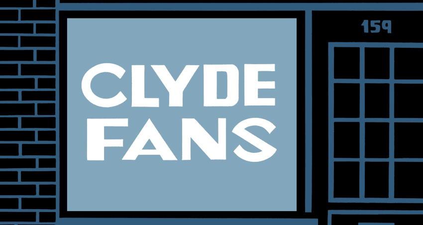 """Clyde Fans"" di Seth, quanta vita in un ventilatore!"
