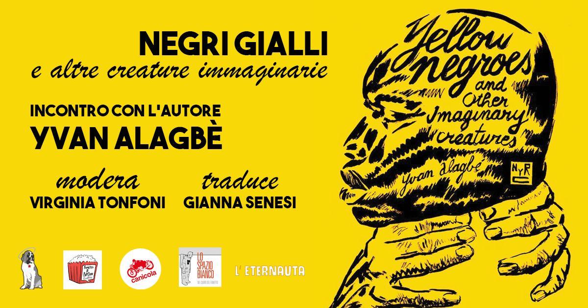 """""""Negri Gialli e altre creature immaginarie"""" a Pisa per Fumetti&Popcorn"""