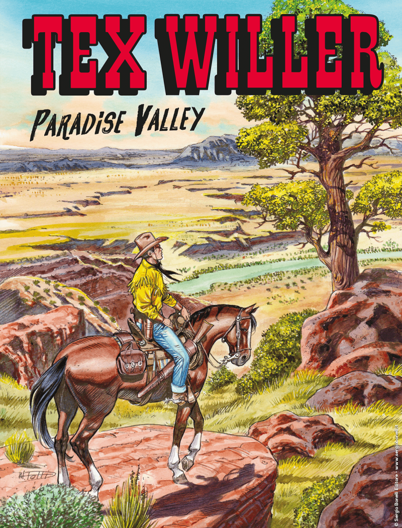 Tex Willer #14 – Paradise Valley (Ruju, Del Vecchio)