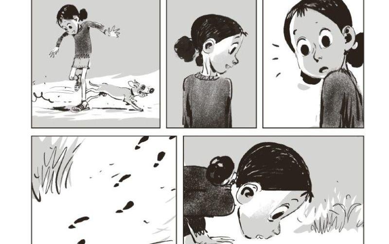 Un'estate senza mamma e senza parole: il nuovo fumetto muto di Panaccione