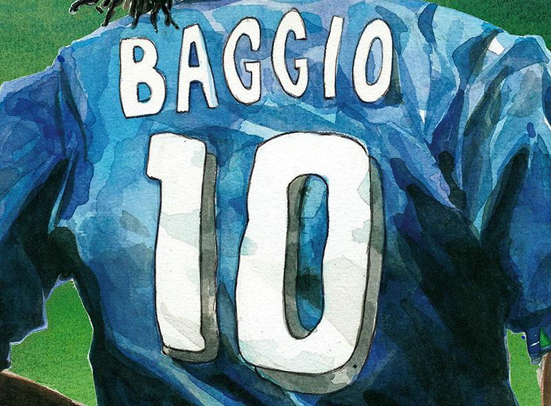 L'impossibile grandezza di Roberto Baggio
