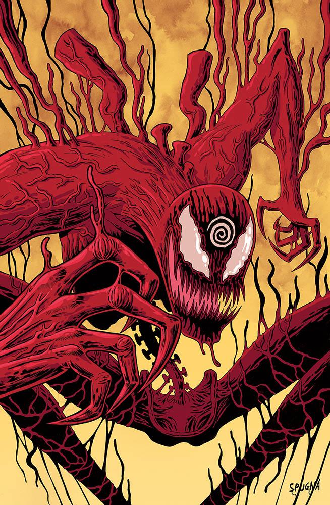 ABSOLUTE CARNAGE: l'evento Marvel con le variant cover di Zerocalcare e Spugna