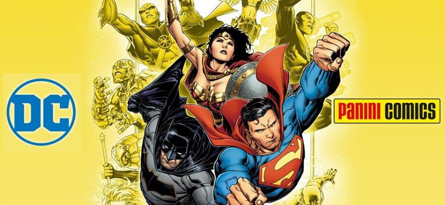 Panini Comics nuovo editore italiano dei fumetti DC Comics