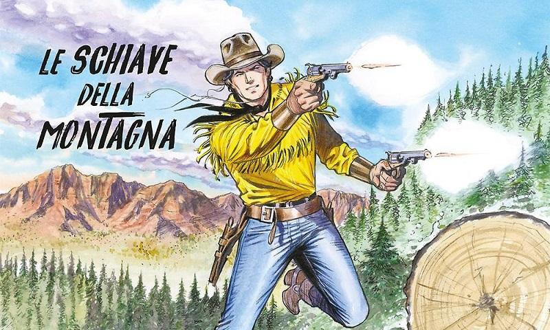 Tex Willer #15 – Le schiave della montagna (Ruju, Del Vecchio)