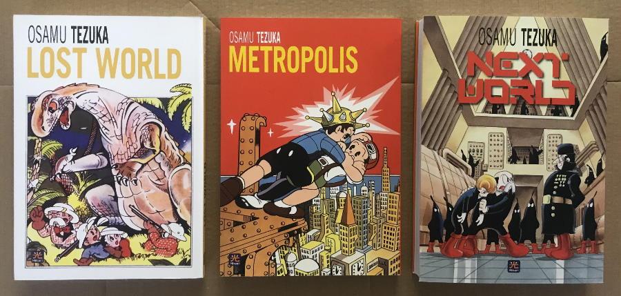 """Con """"Next World"""" termina la """"trilogia della fantascienza"""" di Osamu Tezuka"""