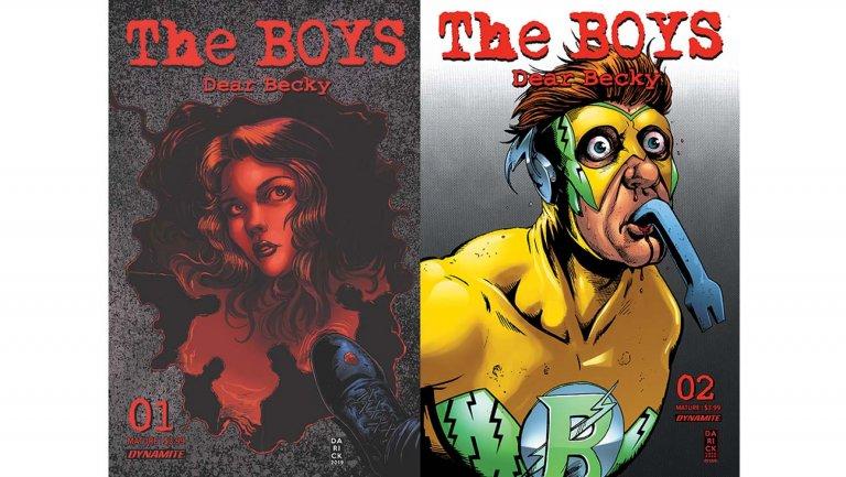 Dynamite annuncia nuova serie di The Boys scritta da Garth Ennis