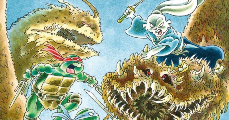 Il coniglio di Sakai e le tartarughe di Eastman e Laird: samurai e ninja
