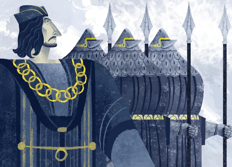 The Blue Knight • Il film di animazione sulla storia del colore blu