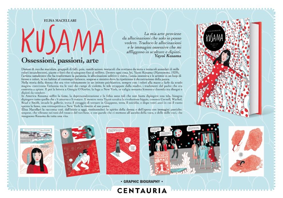 "Centauria pubblica ""Yayoi Kusama"" di Elisa Macellari"