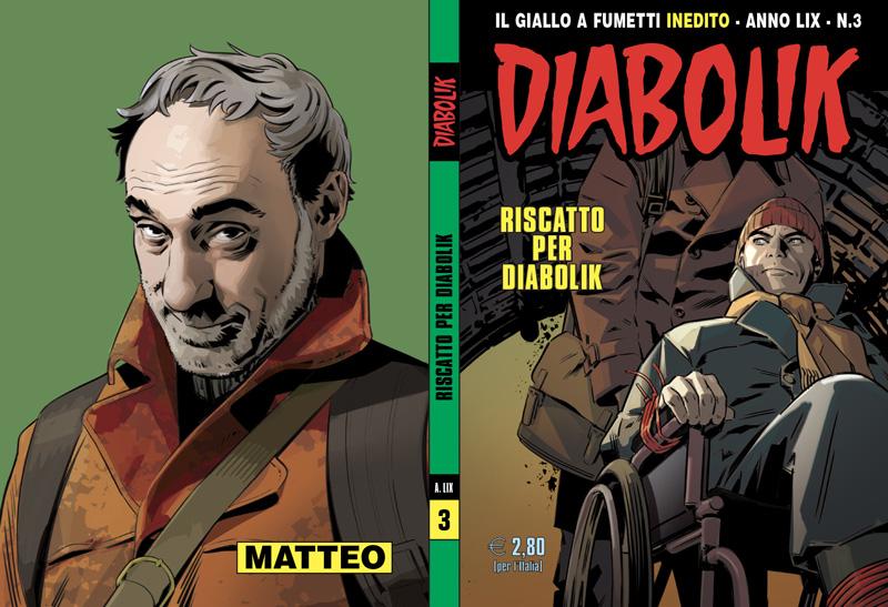 Diabolik Anno LIX #3 – Riscatto per Diabolik (Gomboli, Faraci, Muscatiello)