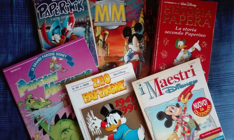 Le pubblicazioni Disney negli anni Novanta