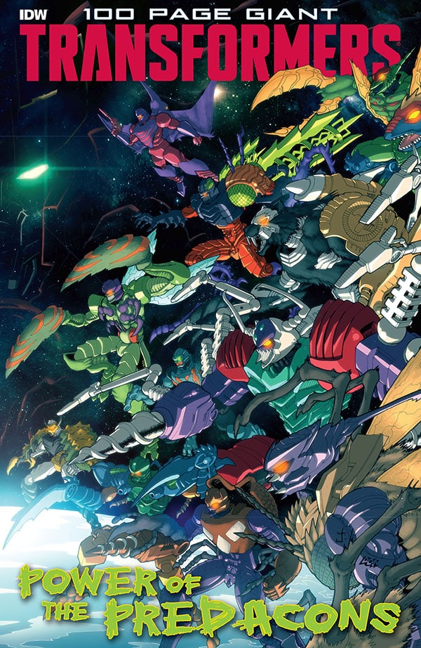 Transformers 100-Page Giant - Power of the Predacons