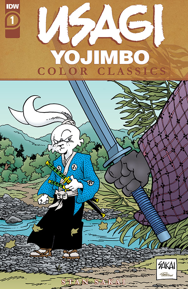 Usagi Yojimbo Color Classics 1