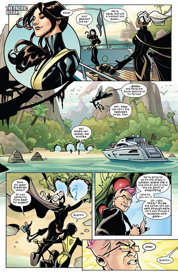 X-Men - Fantastic Four 001-005